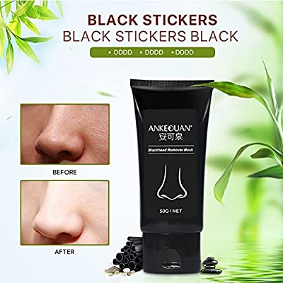 Huoju Deep Cleansing Black Mask Good Blackhead Remove Mask Effective Full Facial Blackhead Treatments Face Care from Huoju