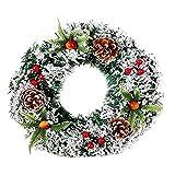 Handgemaakte kerstkrans Festival krans simulatie kerstboom decoratie huwelijksviering krans
