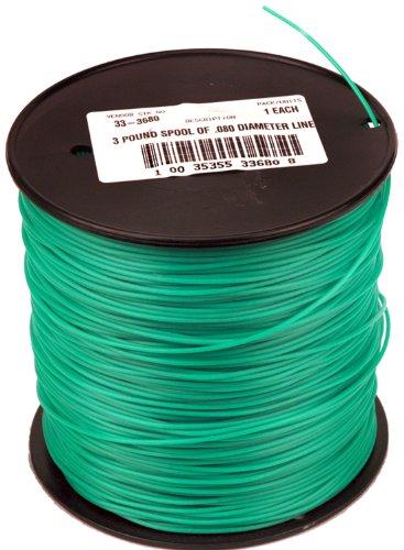 Grade Trimmer Line (Maxpower 333680privaten Grade rund .080-inch Trimmer Line 1200-foot Länge)