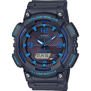 CASIO Mens Analogue-Digital Quartz Watch with Resin Strap AQ-S810W-8A2VEF