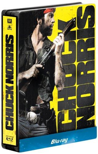 Chuck Norris : Oeil pour oeil + Delta Force + Sale temps pour un flic + Portés disparus [Édition Limitée boîtier SteelBook], Episodes DVD/BluRay