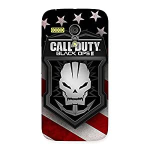 Enticing Duty Calling Back Case Cover for Moto G