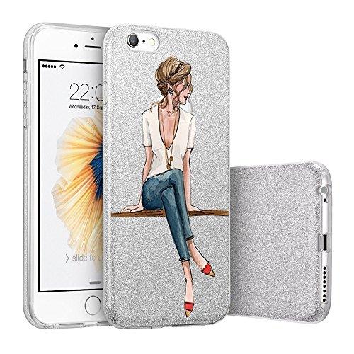 Teryei Compatible con Funda iPhone 6 / 6S