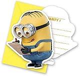 Minions Lovely Einladungskarten, 6 Stück