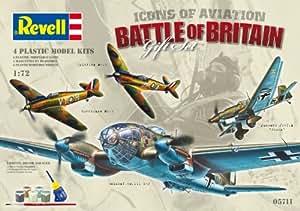 Revell Battle of Britain Airplane Plastic Model Gift Set
