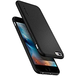 Spigen Liquid Air, Designed for iPhone 6, iPhone 6S Case – Black