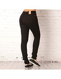 Jean adidas Originals coupe super skinny pour femme en noir