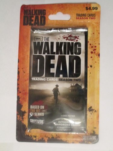 The Walking Dead Season Two Trading Cards 2 pack by Cryptozoic Entertainment