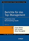 Image de Advanced Controlling: Berichte für das Top-Management: Ergebnisse einer Benchmarking-Studie