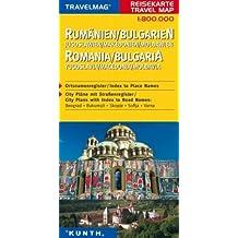 Reisekarte : Rumänien / Bulgarien