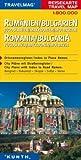 Reisekarte : Rumänien / Bulgarien -