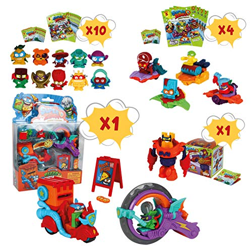 SetsContiene Pack Superzings 15 One Pack4 Riders10 Riders Mission Pizza Blíster 1 Con Supersliders Serie Sobres Sorpresa 3 Y nwXZPN8O0k