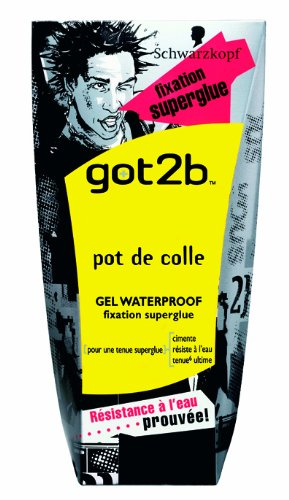 got2b - Gel Coiffant - Pot de Colle - Tube 150 ml