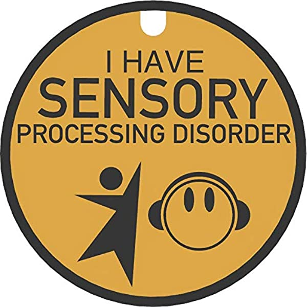 Hello I have sensory processing issues badge don/'t ask about my ear defenders