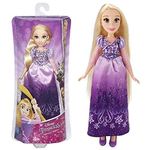 Hasbro Disney Prinzessin B5286ES2 - Schimmerglanz Rapunzel, (Lila Disney Prinzessin Kleid)