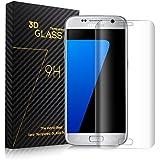Everdigi Samsung Galaxy S7 Edge Tempered Glass Screen Protector,Ultra Thin 0.26mm Scratch Resistant, Full Coverage, Ultra HD Clear, Anti-Scratch