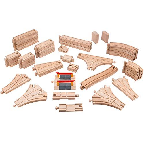 playbees-wooden-train-track-set-59-pcs-wooden-railroad-pieces-compatible-w-brio-and-most-name-brand-