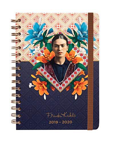 Erik ASVA51904 Agenda con Planner Settimanale 2019/2020 Frida Kahlo
