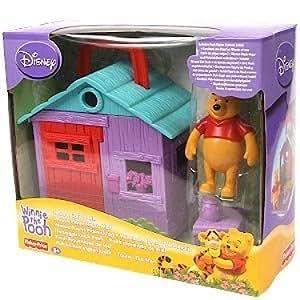 winnie l 39 ourson pique nique miel maison figurine import royaume uni jeux et. Black Bedroom Furniture Sets. Home Design Ideas