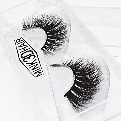 ��Rifuli® 1 Paar Luxus 3D falsche Wimpern flauschigen Streifen Wimpern lange natürliche Party Wimpernpflege Magnetische Wimpern Magnet Wimpern Wiederverwendbare ()
