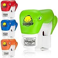Guantes de boxeo para niños, verde