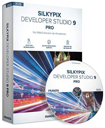 FRANZIS SILKYPIX Developer Studio Pro 9 Pro 9 RAW-Entwicklung auf höchstem Niveau - Windows PC und MAC Disc Disc
