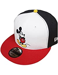 New Era Mickey Mouse WH Black White Red Snapback Cap 9fifty Limited Edition 3dafa9e393d