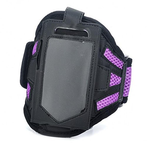 LaDicha Schwarz Und Lila Mode Sport Armband Für iPhone 3G 4 (Iphone 3g-armband)
