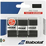 BABOLAT Pro Tour Grip Black Black Or White Pack of 3