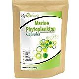 Capsulas Marinas Fitoplanton (180 Capsulas X 500mg)   La mejor calidad disponible   Por MySuperfoods