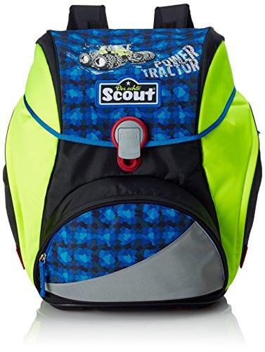 Scout 744107 Alpha Set Kinder-Rucksack, Blau/Grün