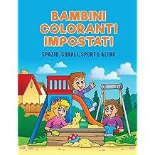 Bambini coloranti impostati: Spazio, squali, Sport e Altro