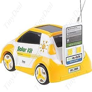 Voiture solaire radio-télécommandée, jouet écologique!