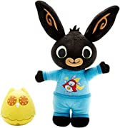 Bing is dressed in his blue Hoppity Voosh pyjamas, ready for a bedtime story and a cuddle.;Owly looks just like Bing's nightlight in the television show.;Press Owly down to see colourful lights slowly fade in and out, creating a soothing nigh...