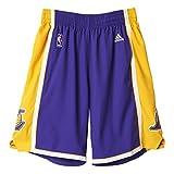 adidas Herren Intnl Swingman Shorts NBA Laker, Violett, 2XL, A20640