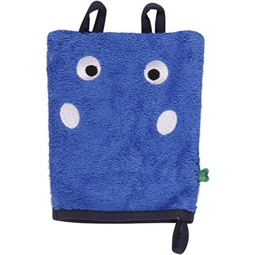 Fred'S World By Green Cotton Hippo Wash Glove, Gants Bébé garçon, Blau (Royal Blue 019415001), Taille Unique