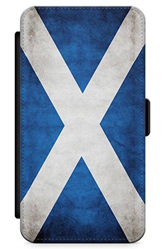 Case Warehouse iPhone 6 / 6s Scotland Saltire Flag Schutz Gummi Handyhülle TPU Bumper Flagge Saltire Gälisch Schottisch Hochland Flag Case Zubehör