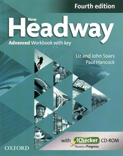 New Headway 4th Edition Advanced Workbook with Key (English File)