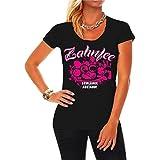 Frauen und Damen T-Shirt ZAHNFEE Armlänge Abstand Größe XS - 3XL