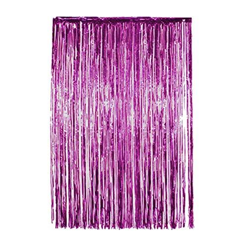 Folien-Vorhang-Regenvorhangzugblume, verzierte Vorhang-Hintergründe für Partei-Versorgungen