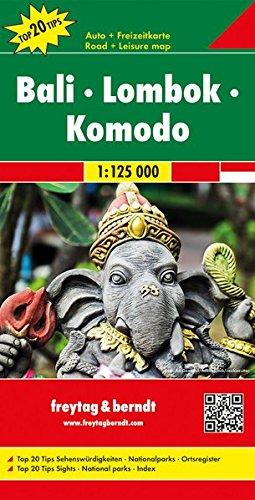 Bali-Lombok-Komodo 1:125.000 (Auto karte)