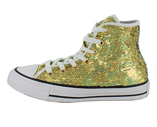Converse CT AT Holiday Party Sneaker Turnschuhe Damen Gold/White/Black
