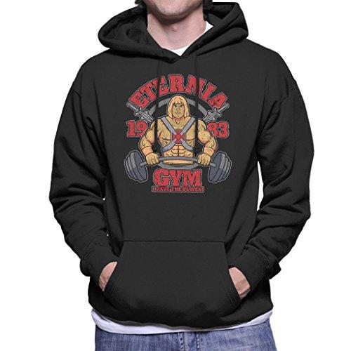 Cloud City 7 He Man Eternia Gym Men's Hooded Sweatshirt