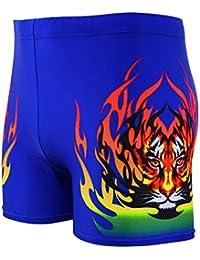 a9dc1c6c9ccf Eizur Uomo Costume da Bagno Nuoto Trunks Shorts Slip Breve Pantaloni Breve  Boxer Pants per Immersione Spiaggia…