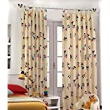 Disney Mickey Mouse Minnie Mouse cortina 140x290 cm algodón 100%- CREMA D966