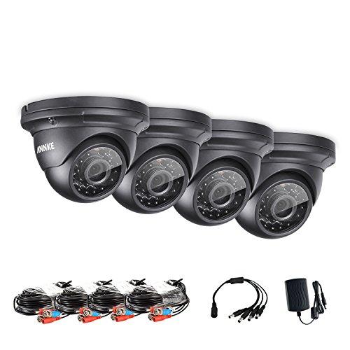 ANNKE-960P-4-Cmaras-de-Vigilancia-de-SeguridadIP-66-Impermeable36mm-sorporta-IR-CutVision-Nocturna-de-infrarrojo-Distancia-IR-30-metro-Exterior-y-Interior-42LED
