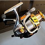 JUANXIUYU Moteur de pêche à l'eau de mer en métal Complet MT3000-7000, 7000