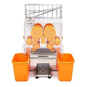 vevor extracteur de jus jus centrifugeuse commerciale lectrique presse fruit orange squeezer. Black Bedroom Furniture Sets. Home Design Ideas