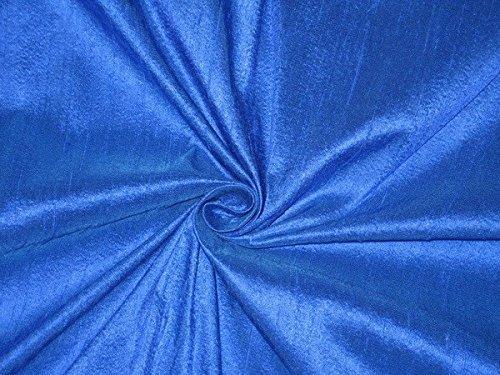 puresilks Dupionseide Stoff royal blau tolle neue Kollektion Hobbys, Home Decor, Nähen, Mode, Puppe Kleid, Einrichtung, innen. -