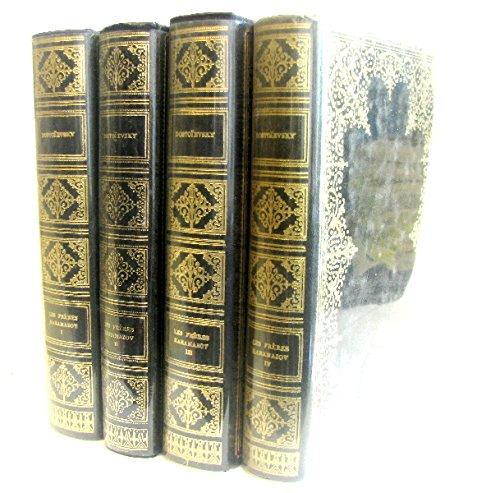 4 volumes; Les frères karamazov ( Tome 1,2,3,4)